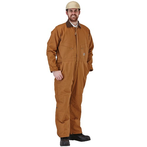 Brown Duck 100% Cotton 10-oz. Coveralls