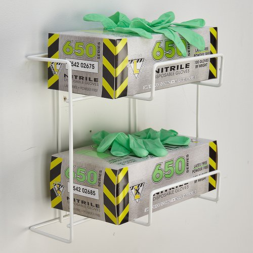 Rack 'Em Disposable Glove Box Dispenser Racks