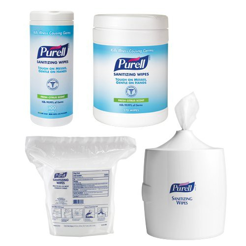 Purell E3 Rated Sanitizing Wipes