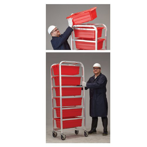 Heavy-Duty, 6+ Tote Aluminum Knock-Down Dolly