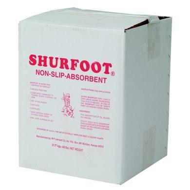 ShurFoot Non-Slip Floor Compound, 50-lb. Box