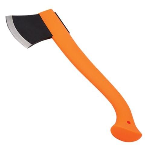 Orange-Handle Axe