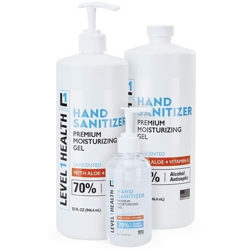 Level 1 Health Gel Hand Sanitizer