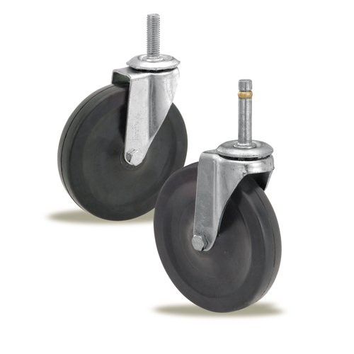 Replacement Casters for Heavy-Duty Utility Carts