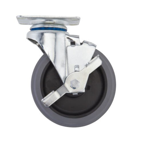 "5"" Caster, Plate Swivel, No Brake (For Freezer Usage)"