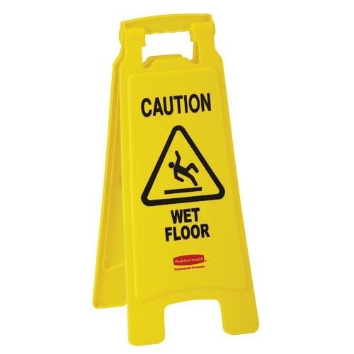 Wet Floor Sign History: Wet Floor Signs - Bunzl Processor Division