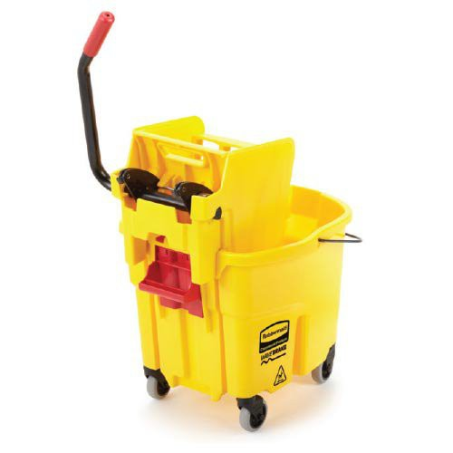 35-Quart Complete Mopping System with Dolly and Dirty Water Bucket