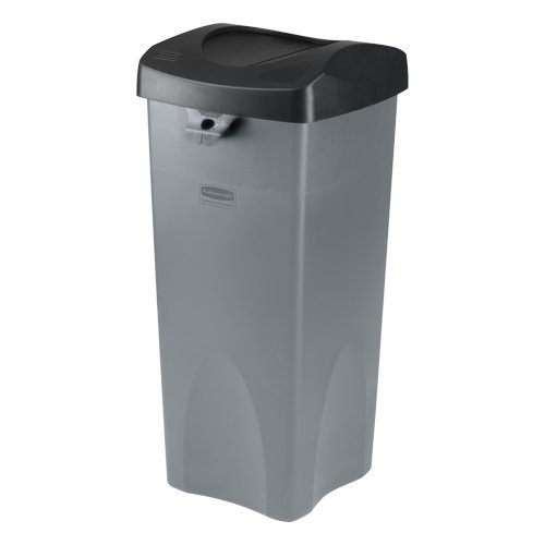 23-gallon container - gray