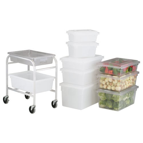 Large Food Boxes fit perfectly into food box dolly (sold separately).