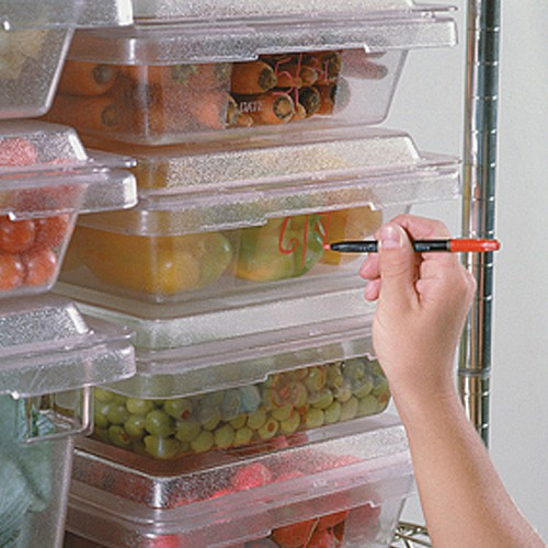 Clear, CARB-X Food Boxes.