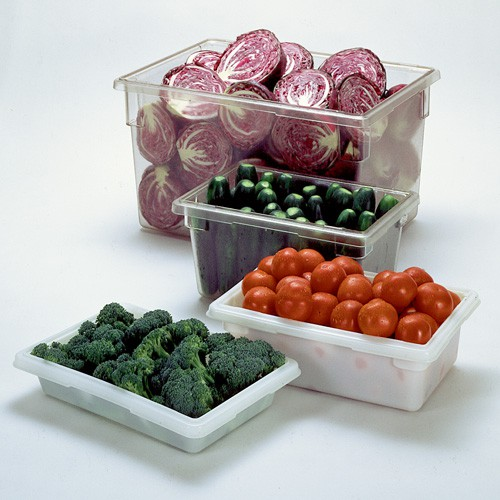 Choose from clear, CARB-X or White, DUR-X large food boxes.