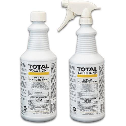 Total Solutions, Quart Bottles.