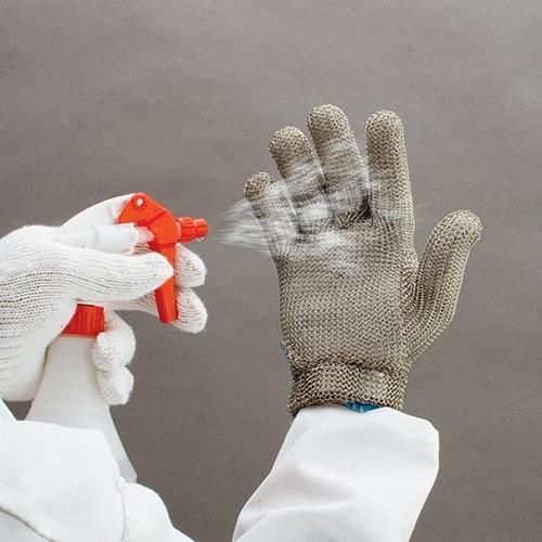Ideal for multiple uses, including sanitizing metal mesh gloves.