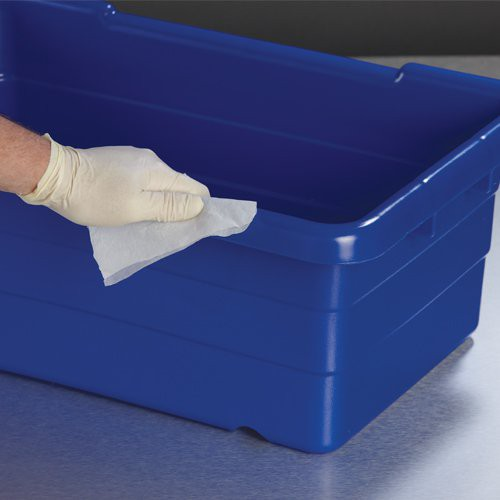 Ideal for multiple uses, including sanitizing totes.