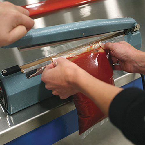 Bag sealer works great to seal Cook Chill bags.