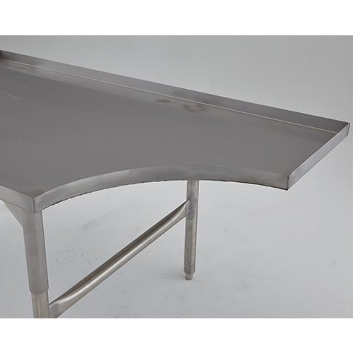 Table is extremely versatile and may be ordered with the Operator Notch section located on either side of the table.