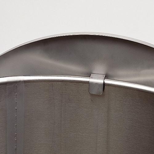 Stainless Steel 55-Gallon Process Drum - Bunzl Processor
