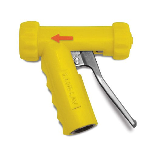 Yellow Mid-Size Hot Water Nozzle