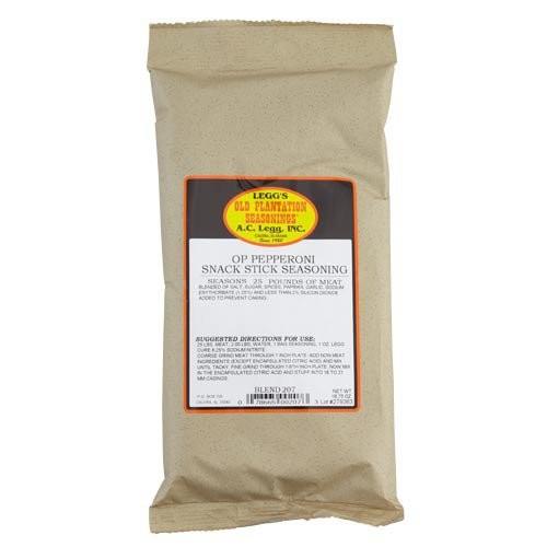 Pepperoni Snack Stick Seasoning #207, 16.75 oz. Bag