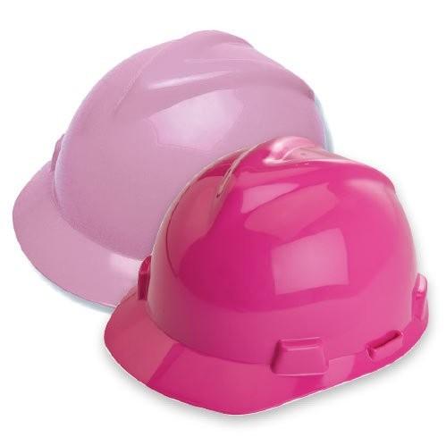 Pink, V-Gard Safety Hard Hats
