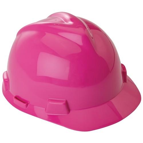 Hot Pink V-GARD Safety Hard Hat