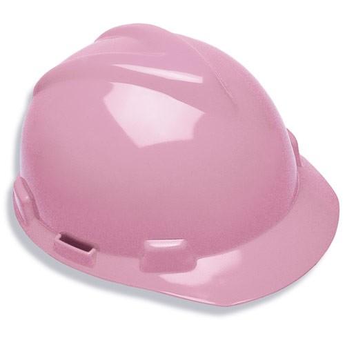 Light Pink V-GARD Safety Hard Hat