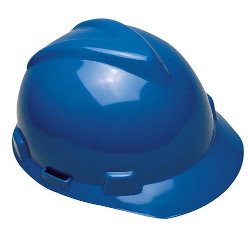 Blue V-GARD Safety Hard Hat