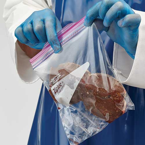 ZipLoc Bags are ideal for packaging wild game meat.