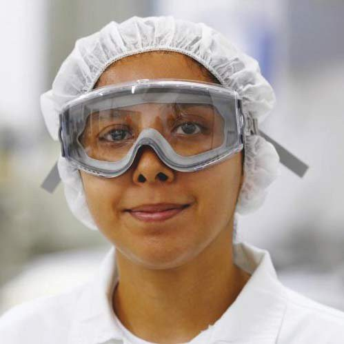 Stealth Goggles protects eyes from chemical splashes and unexpected impacts.