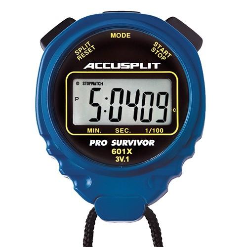 Blue Pro-Survivor Water-Resistant Stopwatch