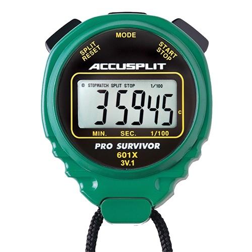 Green Pro-Survivor Water-Resistant Stopwatch