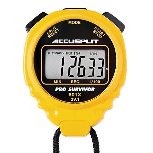 Yellow Pro-Survivor Water-Resistant Stopwatch