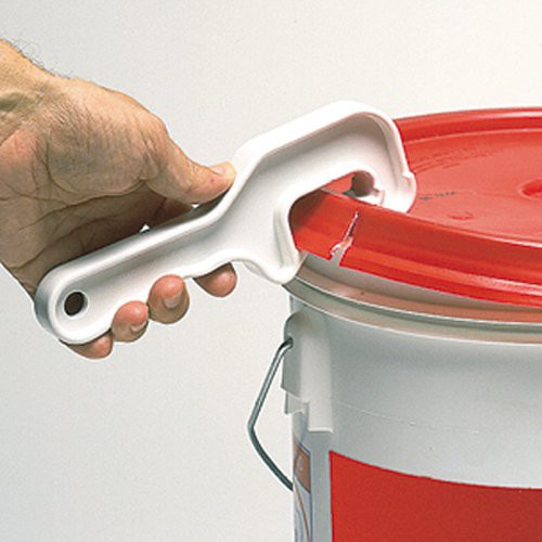 Makes opening pail lids an easy task.