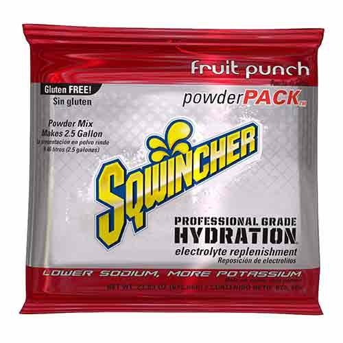Sqwincher, Fruit Punch 2.5 Gallon Powder Pack
