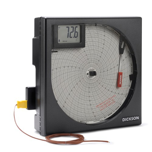 "8"" Temperature Chart Recorder with Alarm"