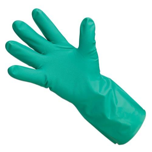 Diamond Grip Unlined Nitrile Gloves