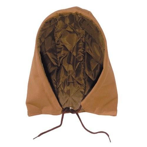 Brown optional snap-on hood.