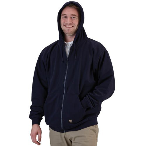 Double-layered hood with a 5-oz. thermal lining for added warmth.