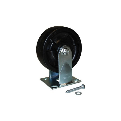 "Replacement 6"" Polyolefin Swivel & Fixed Caster Kit"