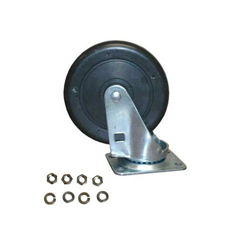 """Replacement 5"""" Swivel Caster with Hardware - for 14-cu. ft. Truck"""