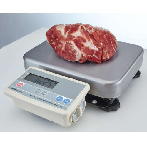 The Low-Profile Bench Scale features three weighing resolutions.