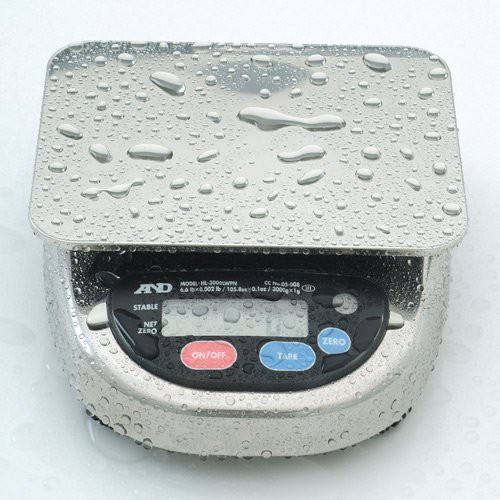 Washdown safe when powered by batteries.