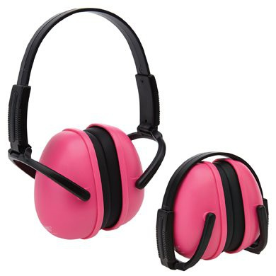 Pink Foldable Earmuffs