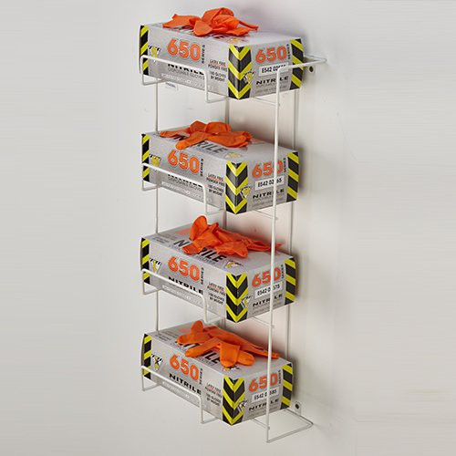 4 Box Rack 'Em Disposable Glove Box Dispenser Rack