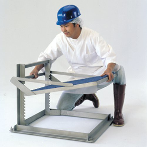 Stand is easily adjusted from 4-1/4'' to 17-1/4''