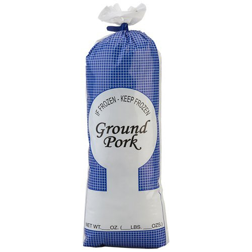 Ground Pork CLARITY In-Stock Poly Meat Bag