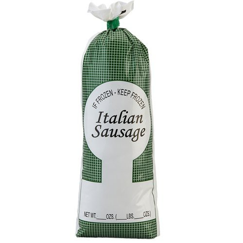Italian Sausage Poly Food Bag