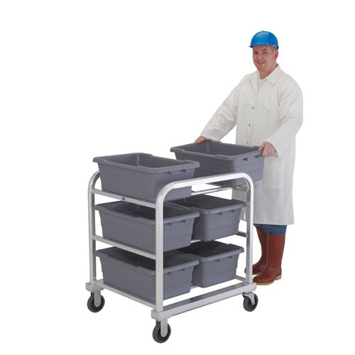 Heavy-Duty Side-by-Side Six Tote Dolly