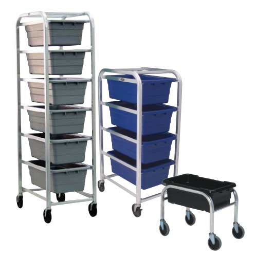 Standard-Duty Welded Aluminum Tote Dollies