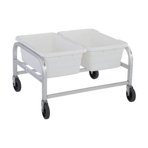 Heavy-Duty Side-by-Side Two Tote Dolly